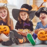Kids with food allergies celebrating Halloween