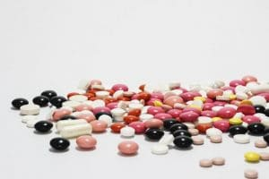 pile of medications