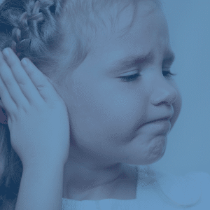 child with ear pain