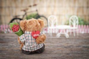 valentine's day stuffed animal